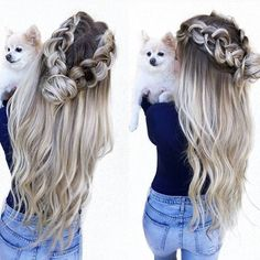 If you are looking for some awe inspiring cute girls hairstyles, cute hairstyles for girls and cute hairstyles for teenage girls you are on the right spot.