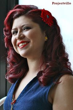 Projectville: Craft, DIY, Art, and Beauty: Glamourous 30s Hair