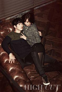 HIGH CUT  김재원  Kim Jaewon  조윤희  Cho Youn Hee