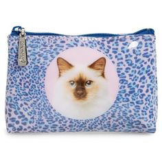 Women's Catseye London 'Leopard Cat' Zip Pouch ($12) ❤ liked on Polyvore featuring bags, leopard cat, retro bags, zipper pouch bag, cat bag, leopard bag and zip pouch bags Pouch Bag, Zipper Pouch, Hanukkah 2016, Leopard Bag, Cat Bag, London, Shoe Bag, Retro, Cats