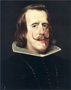 Portrait of Philip IV - Philip had seven children by Elisabeth, but only one son who died at the age of sixteen. The death of his son deeply shocked the king, who appears to have been a good father by the standards of the day.
