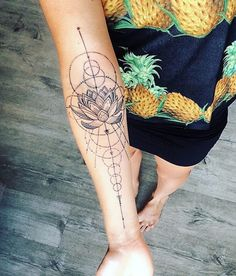 lotus tattoo idea #Ink #Youqueen #girly #tattoos #lotus #flower