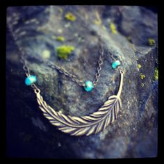 Bird of Prey Large brass feather pendant with by TheGypsyRebel, $22.00