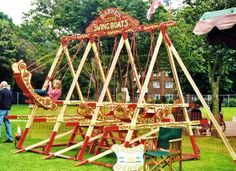 Old Tyme Fairground Amusements, Attractions and Rides, Mobile Catering Units For Hire From Jon Anton Entertainments.