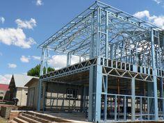 clotan steel pre engineered steel frame buildings