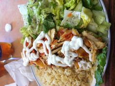 Huge shawarma platter Shawarma, Platter, I Foods, Tacos, Mexican, Meat, Chicken, Ethnic Recipes, Beef