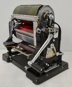 1930's Gestetner duplicator