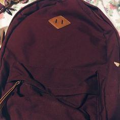 Forever 21 Backpack Maroon Backpack. Worn twice. Forever 21 Bags Backpacks