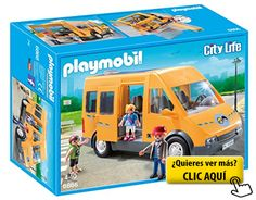 Playmobil Colegio - Autobús escolar (6866) #playmovil
