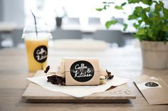 Coffee & Kitchen - Branding by moodley brand identity , via Behance