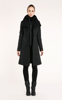 Soïa & Kyo - JOSETTE BLACK - Wools - Women - Collection