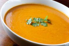 Вегетарианский тыквенный суп-пюре