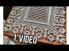 Crochet Placemat Patterns, Crochet Table Runner Pattern, Crochet Stitches Free, Crochet Lace Edging, Crochet Motifs, Crochet Borders, Crochet Tablecloth, Crochet Diagram, Filet Crochet