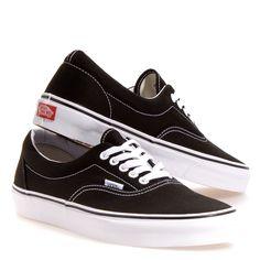 Vans Era Black/white Shoes: 11.5