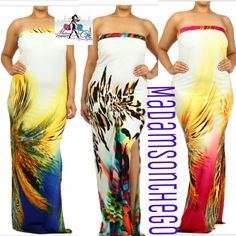 Carribean Breeze Maxi / Madams On The Go