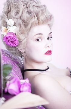 18th Century Makeup | 18th Century Style Make up | Niki Collins Photography