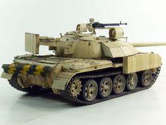 Built Model 1/35 Tamiya T-55 Enigma with Base | eBay