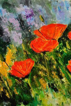 Poppies 107 by Pol Ledent