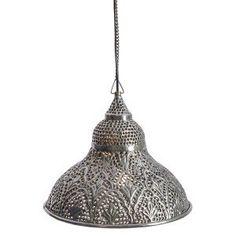 Half Shell Moroccan Pendant Light
