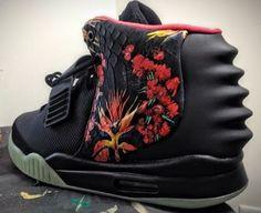 "Nike Air Yeezy 2 ""Givenchy"" Mache Custom"