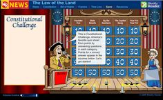 Interactive U. Constitution Games & Lessons Free Technology for Teachers: Interactive U. Social Studies Classroom, Social Studies Activities, History Classroom, Teaching Social Studies, 8th Grade History, Study History, Teaching Us History, History Teachers, Educational Technology