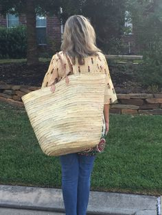 Chic Straw Beach Bag Oversized Beach Bag Summer Tote by MOOSSHOP ...