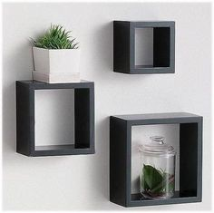 Floating Shelves Kitchen Industrial how to build floating shelves bathroom.Floating Shelves Above Couch Apartments. Floating Cube Shelves, Cube Wall Shelf, Wall Cubes, Floating Shelves Bedroom, Rustic Floating Shelves, Box Shelves, Wall Shelves, Floating Wall, Wall Storage