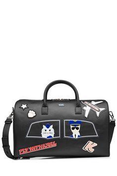 KARL LAGERFELD . #karllagerfeld #bags #travel bags #weekend #