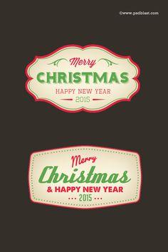Christmas Badge (PSD)
