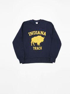 Russell Athletic Indiana Sweatshirt Navy