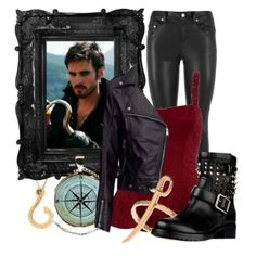 Hook inspired outfit