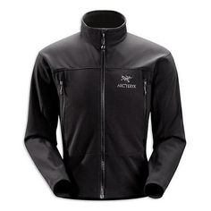 Good Deal Arc'teryx Mens Gamma AR Jacket – Black – X-Large