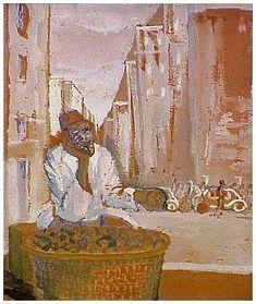 Gerard Sekoto, 'Poverty in the Midst of Plenty' (1939)
