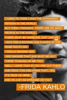 Frida Kahlo #Frida #Kahlo #artist #iloveyousomuch