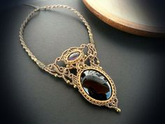 Hey, I found this really awesome Etsy listing at https://www.etsy.com/pt/listing/263885463/macrame-necklace-with-black-onyx-and