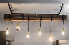 DIY lighting above bar Track Lighting, Restaurant, Ceiling Lights, Vegan, Bar, Interior Design, Ideas, Home Decor, Attic House