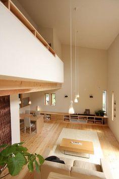 좁은 공간 활용 최고! 복층 인테리어 좁은 공간 활용하는 방법 중 최고는 아무래도 복층을 활용한 인테리어... Exterior Design, Interior And Exterior, Tiny Apartments, Japanese House, House Goals, Dream Bedroom, Small Spaces, Sweet Home, New Homes