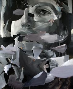 A Canadian artist by the name of Nick Lepard. The man knows what he is doing with brushstrokes and hue. Modern Art, Contemporary Art, Identity Art, A Level Art, Portraits, Canadian Artists, Art Lessons, Painting & Drawing, Photo Art