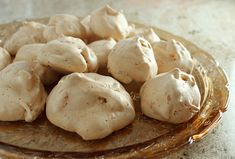 My dear friend Christina McHenry's grandmother, Elizabeth Williamson, used to bake these melt-in-your-mouth coconut meringue cookies for Chrissie and her siblings when they were growing up. These cookies work well for Passover because they don't have any type of flour in them, and I like them a lot better than traditional coconut macaroons. You may...