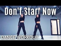[Dance Workout] Dua Lipa - Don't Start Now Zumba Fitness, Dance Fitness, Cardio Dance, Start Now, Stars Then And Now, Dance Studio, Physical Activities, Music Publishing, At Home Workouts