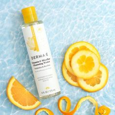 Vitamin C Micellar Cleansing Water Care packaging vitamin c Micellar Cleansing Water with Vitamin C Vitamin C, Organic Skin Care, Natural Skin Care, Castor Oil For Acne, Water Photography, Product Photography, Micellar Water, Home Remedies For Acne, Perfume