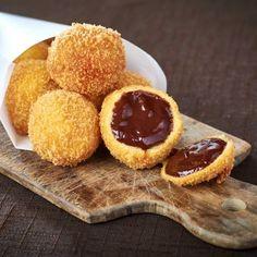 Découvrez la recette du chef Philippe Conticini du restaurant : Croquettes aux chocolats