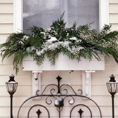 pretty christmas planter