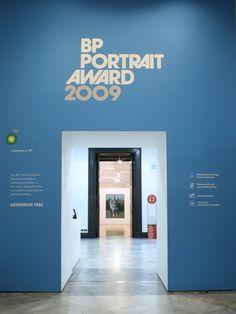 BP Portrait Awards by October Design , via Behance