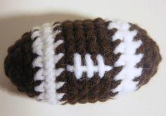 Ravelry: Amigurumi Football pattern by Heather Sonnenberg