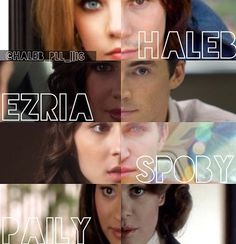 Haleb,Ezria,Spoby,Paily,Pretty little liars couples ♡ Pll, Troian Bellisario, Abc Family, Shay Mitchell, Ashley Benson, Pretty Little Liars, Spencer And Toby, Favorite Tv Shows, My Favorite Things