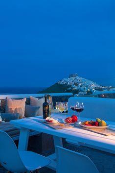 Astypalaia Island by night, Greece