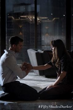 The New 'Fifty Shades Darker' Trailer Is Super Steamy, Super Creepy Fifty Shades Darker Movie, Fifty Shades Quotes, 50 Shades Darker, Christian Grey, Jamie Dornan, 50 Shades Trilogy, Fifty Shades Series, Anastasia Grey, Grey Quotes