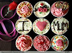Cupcakes mom's day!