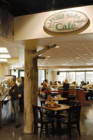 Wild Side Cafe at the Virginia Living Museum in Newport News http://www.newport-news.org/restaurants-print.php